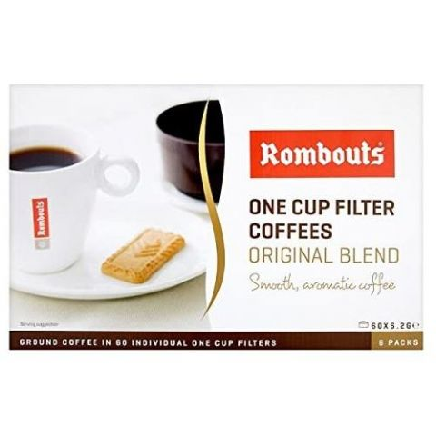 Original Blend Rombouts One Cup Filter Coffees (6 x 10 Packs)